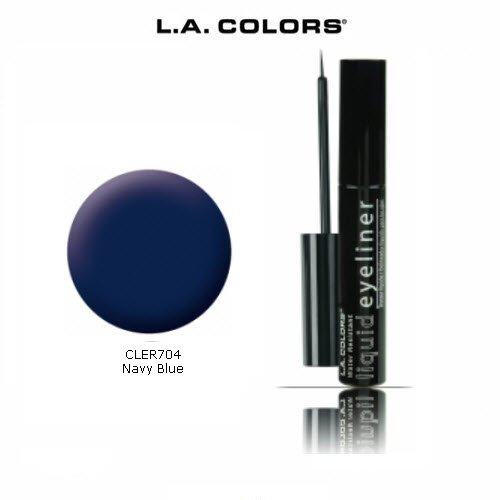 L.A. Colors Liquid Eyeliner 704 Navy Blue (La Colors Eye Liner compare prices)