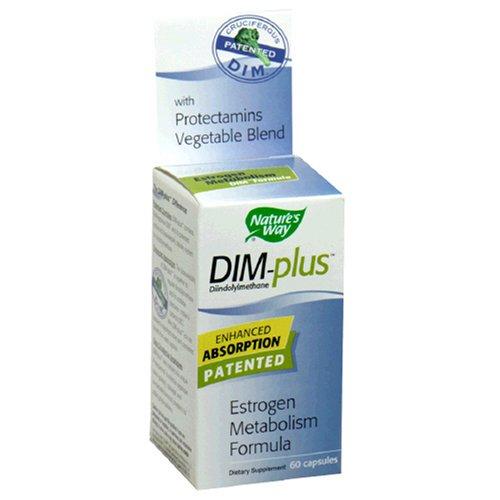 Nature'S Way Dim-Plus Dietary Supplement Estrogen Metabolism Formula , 60 Capsules (Pack Of 2)