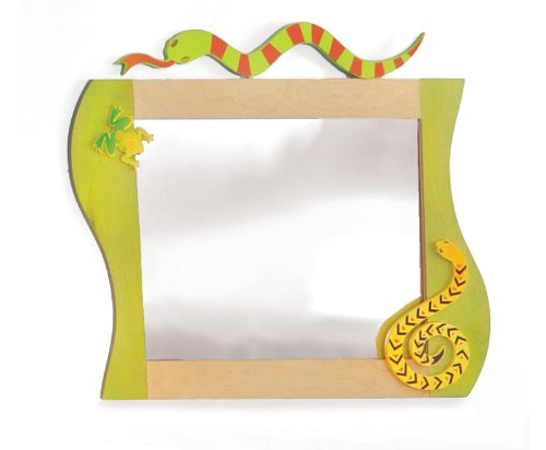 Room Magic RM10-LL Wall Mirror, Little Lizard