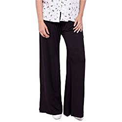 Diva Boutique Women's Palazoo (bv-02_Black_30)