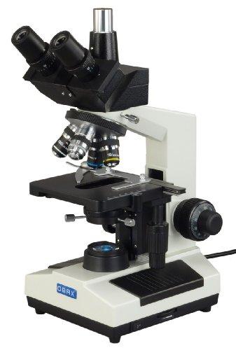 Omax 40X-1600X Trinocular Advance Darkfield Compound Led Microscope With 100X Oil Darkfield Objective