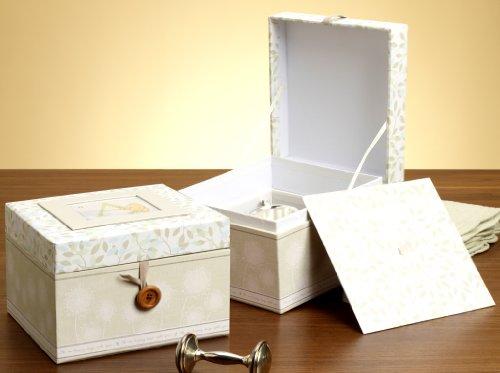C.R. Gibson Disney Keepsake Box, Classic Pooh, 8 X 8 X 5.5″