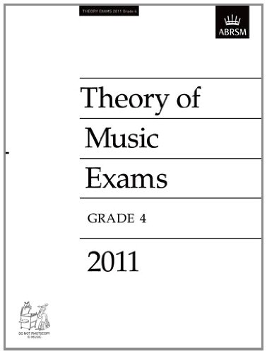 Theory of Music Exams 2011, Grade 4 (Theory of Music Exam papers & answers (ABRSM))