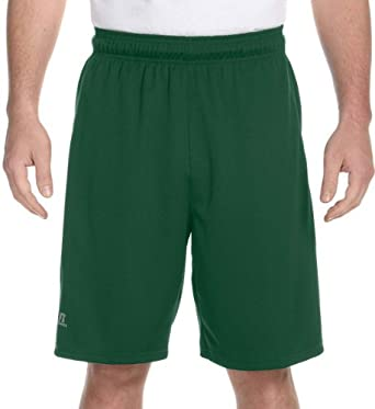Russell Athletic Dri-Power� Colorblock Short - DARK GREEN - S