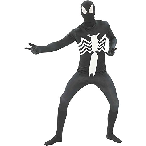 Black Spider-Man 2nd Skin Suit Adult Costume