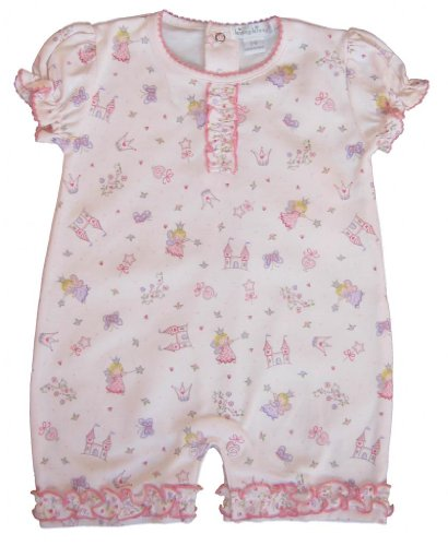 Kissy Kissy Baby Girl Fairyland Print Short Playsuit-9 Months front-971488