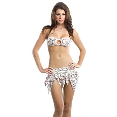 Sexy Club Dress: Sexy Babes in Bandeau Top w/Tinkerbell Skirt - Sexy Club Outfit