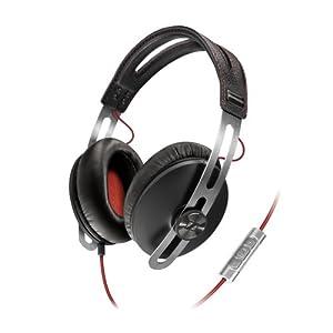 Sennheiser Momentum Closed Circumaural Headphone with Smart Remote - Black