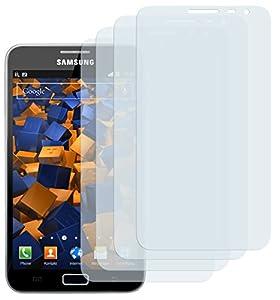 4x mumbi Displayschutzfolie Samsung Galaxy Note Displayschutz