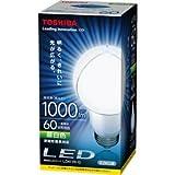 東芝 LED電球 一般電球形 10.6W(全光束:1000 lm/昼白色相当)E-CORE(イー・コア) LDA11N-G