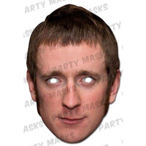 Internet Gift Store Bradley Wiggins Celebrity Face Mask