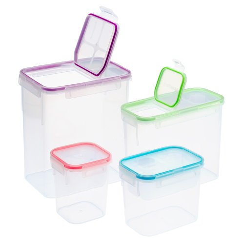 Snapware 1104152 8-Piece Airtight Food Storage Box Container Set front-164980