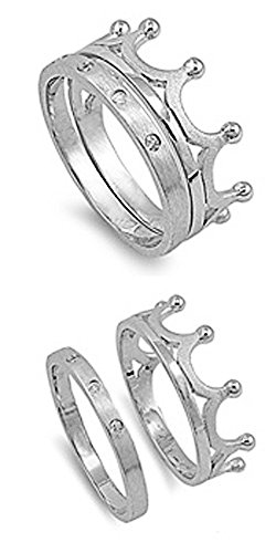 sterling-silver-round-cz-satin-finished-crown-ring-set-10mm-size-5-to-10-6