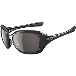 Oakley Necessity Women's Asian Fit Lifestyle Casual Wear Sunglasses - Polished Black/Grey