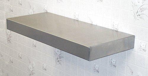 Stainless steel floating shelf size 60 cheap buy for Cheap floating shelves