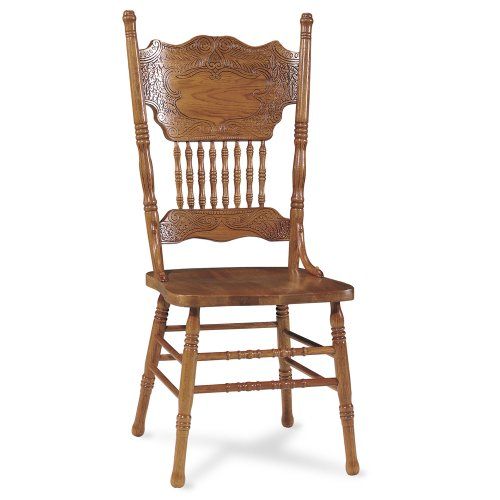 International Concepts 1C04-502 Double Pressback Chair Medium Oak
