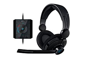 Razer Megalodon 7.1 Surround Sound USB Gaming Headset (Black) by Razer USA