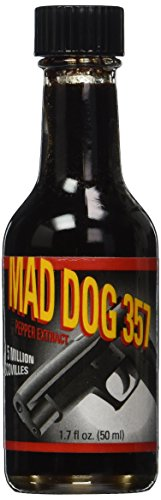 Mad Dog 357 Pepper Extract 5 Million Scoville, 1.7oz