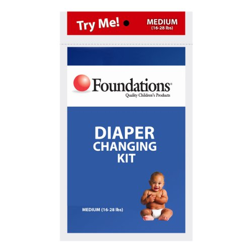 Foundations 107-Dk Diaper Changing Kits - 80 Count