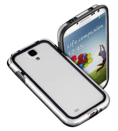 yayago Bumper Hülle Rahmenschutz Case Tasche Black Transparent für Ihr Samsung Galaxy S4 (i9500 / i9505)