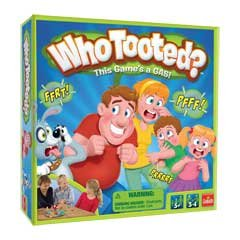 Who Tooted? Board Game- This Game's a Gas!