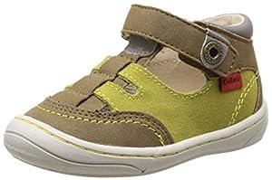 Kickers Zelou - Zapatos primeros pasos de material sintético para niña de Kickers - BebeHogar.com