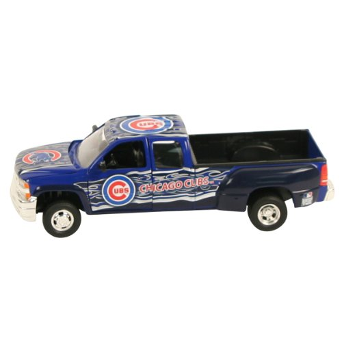 Chicago Cubs Diecast Chevy Silverado Pickup Truck (127 Scale)