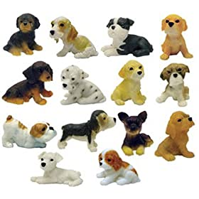Adopt a Puppy Figures - Set of 14 Vending Machine Toys