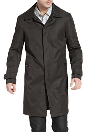 Buy BGSD Mens 'Robert' Hidden Closure Trench Coat
