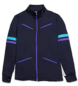 Fila Women's Center Court Comfort Jacket BLACK XL