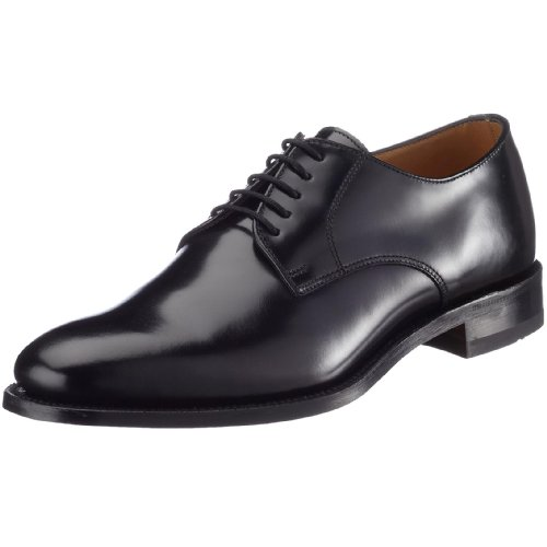 Loake 205B, Men's Lace Up Shoes - Black, 40 EU