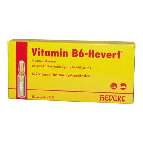VITAMIN B 6 Hevert Ampullen 5X2ml PZN: 4897820
