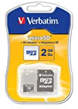 Micro Sd Card + Adaptor 2 Gb Verbatim