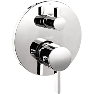 Hansgrohe 04231000 S Thermostatic Trim With Volume Control