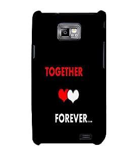 Fuson Premium Printed Hard Plastic Back Case Cover for Samsung I9100 Galaxy S 2