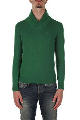 Henry Cottons 42 012 9311701 Maglione Uomo Verde S
