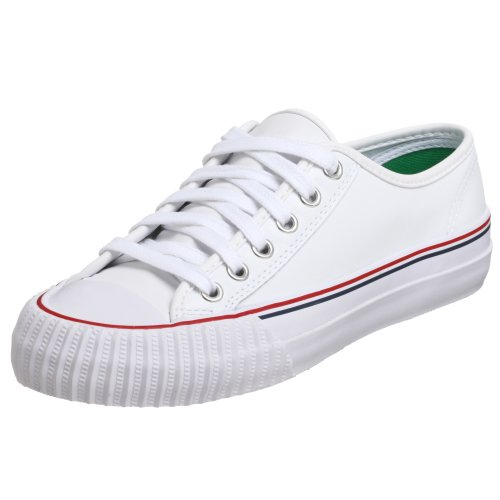 PF Flyers Center Lo Sneaker,White,Men's 10 M US/Women's 11.5 M US