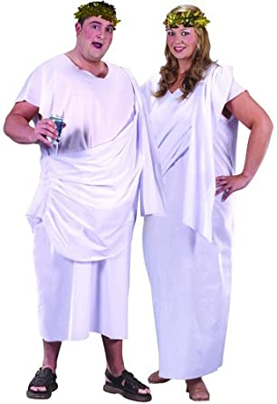 Fun World Toga! Toga! Adult Costume Plus Size