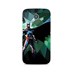 Ebby Batman Abstract Scream Premium Printed Case For Moto G2