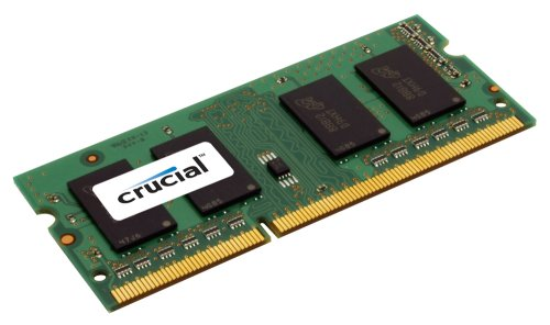 Crucial 4GB Single DDR3 1066 MT/s (PC3-8500) CL7 SODIMM 204-Pin Notebook Memory Module CT51264BC1067 (3036 St Range compare prices)