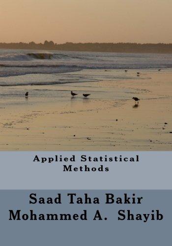 Applied Statistical Methods