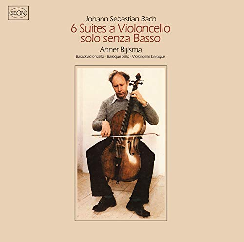 SACD : BACH / BYLSMA,ANNER - Bach: 6 Suites For Violoncello Solo (2 Discos)