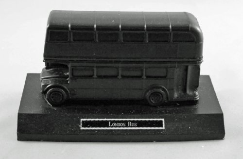 London Bus Coal Model - Hand Crafted - 273