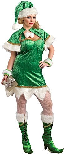 Rubie's Costume Co Women's Holiday Helper Costume