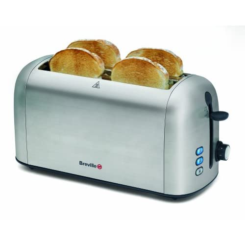 Top 10 Toasters With 4 Slice Slots In Stainless Steel