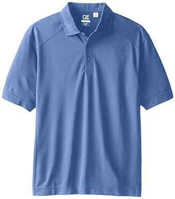 Cutter & Buck Men's Cb Drytec Genre Polo Shirt, Sea Blue, Small