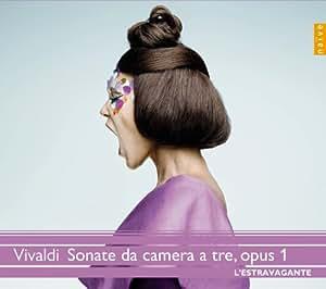 Vivaldi: Sonate da camera a tre, due violini e violone o cembalo, opus 1