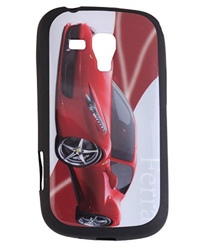 iCandy Matte Finish Soft Rubber Printed Back Cover for Samsung Galaxy S Duos S7562 / S2 Duos S7582 - Ferrari  available at amazon for Rs.115