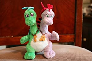 "5.5"" Stuffed Dragontales Zak and Wheezie"