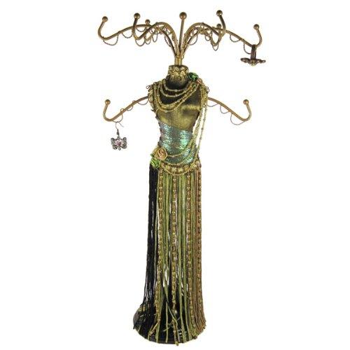 Beaded Tassel Jewelry Tree Dress Form 15
